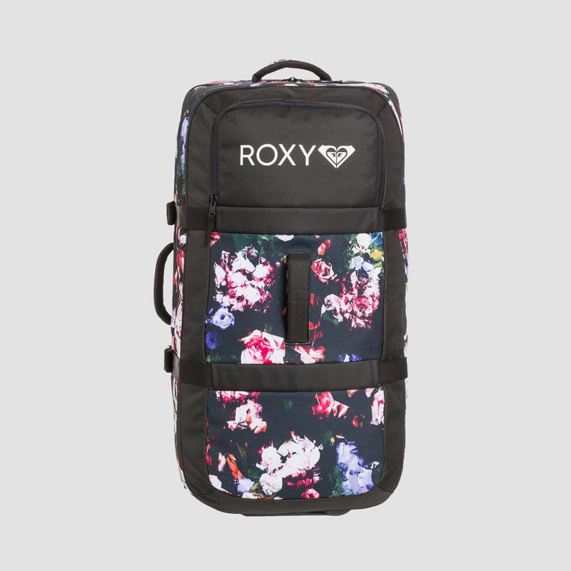 Roxy Long Haul 105L Wheeled Suitcase Blooming Party - Womens