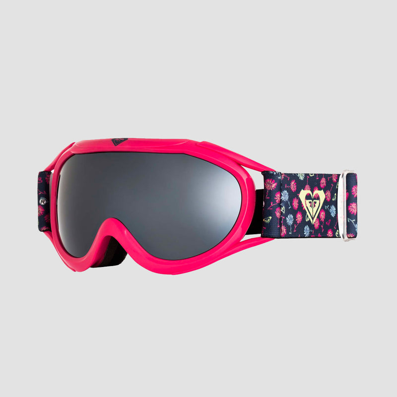 Roxy Loola 2.0 Snow Goggles Medieval Blue Sweet Marguerite - Girls