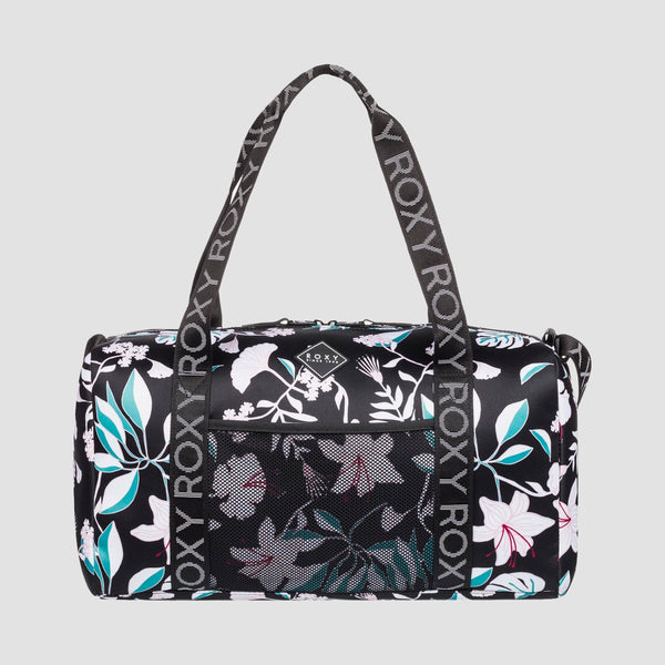 Roxy Moonfire 19L Neoprene Duffle Bag True Black Story Of Sunshine - Womens