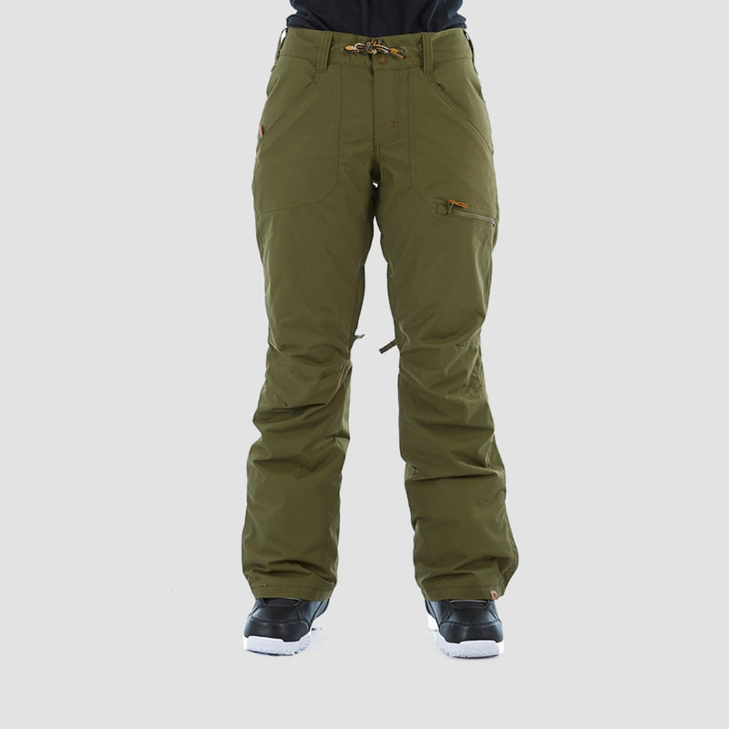 Roxy Nadia Snow Pants Ivy Green - Womens