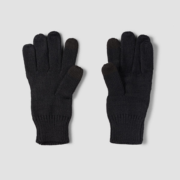 Roxy Poetic Seas Knitted Gloves Black - Womens - Accessories
