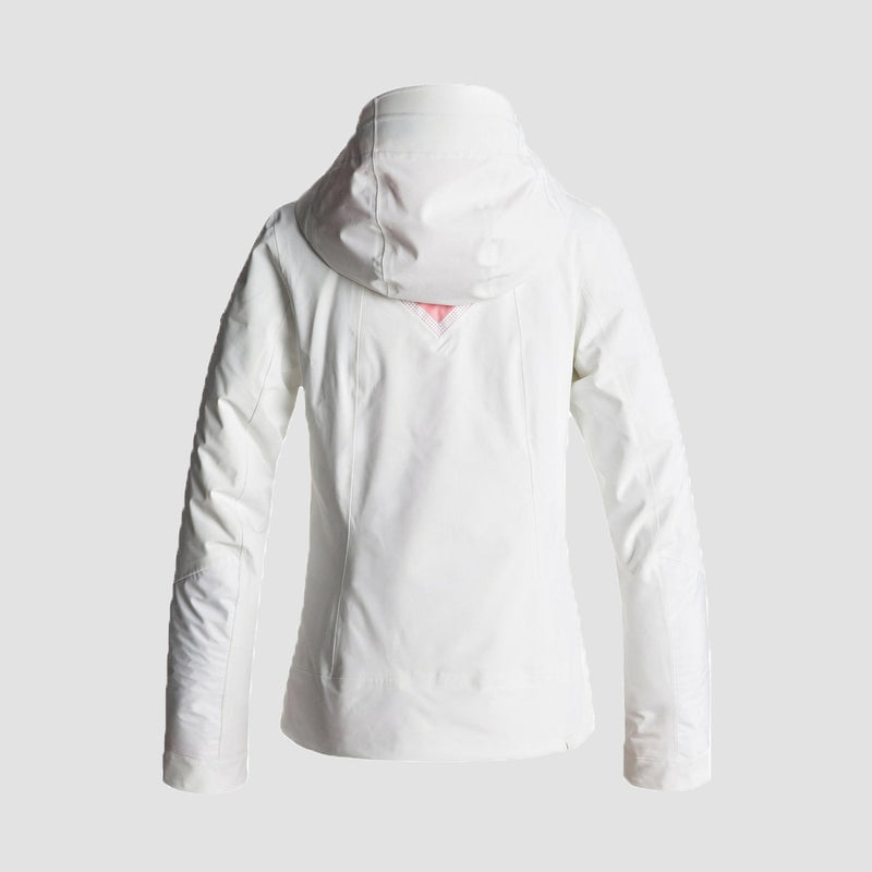 Roxy Premiere Snow Jacket Bright White - Womens - Snowboard