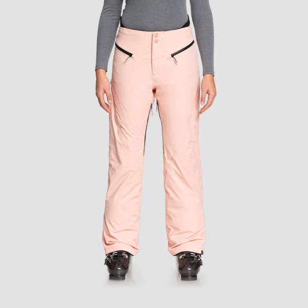Roxy Premiere Snow Pants Coral Cloud - Womens - Snowboard