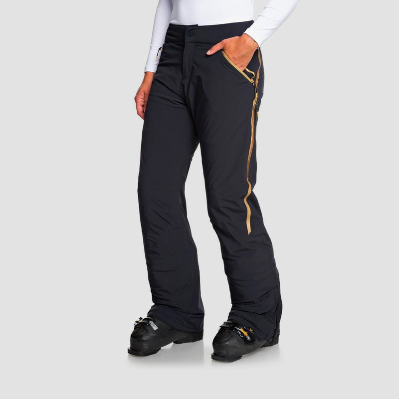 Roxy Premiere Snow Pants True Black - Womens - Snowboard