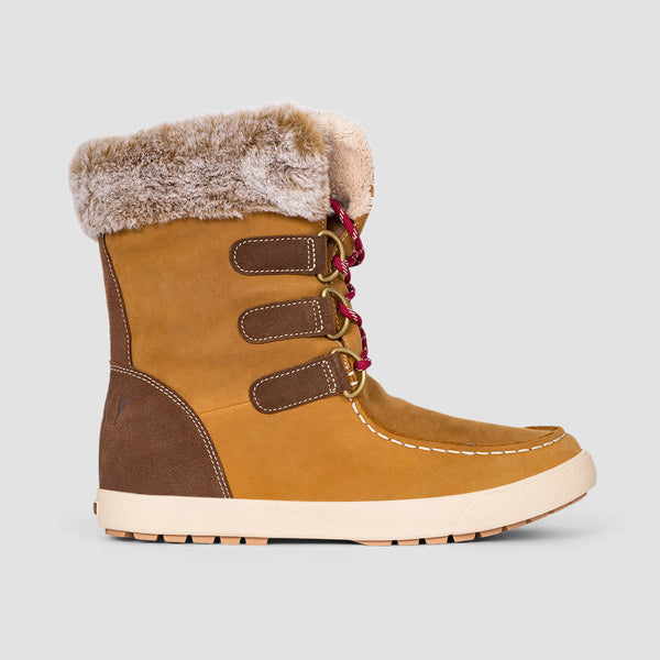 Roxy Rainier II Boots Tan - Womens