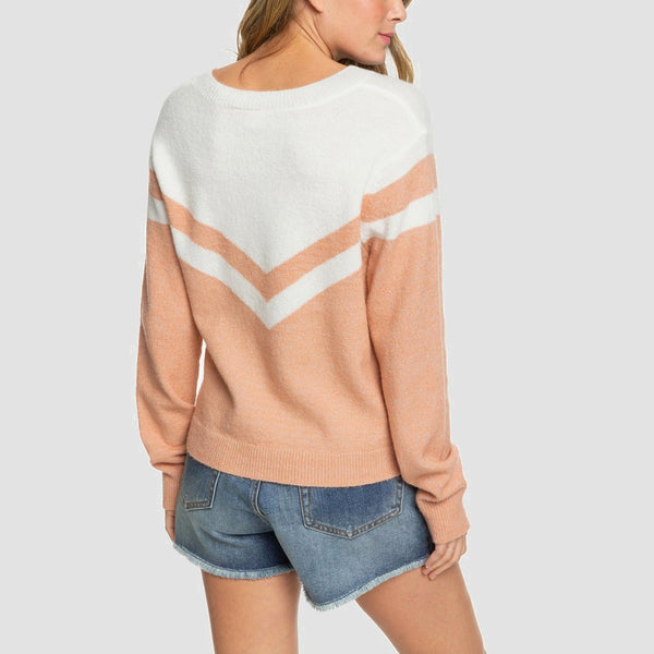 Roxy Requiem Mood Jumper Cafe Creme - Womens