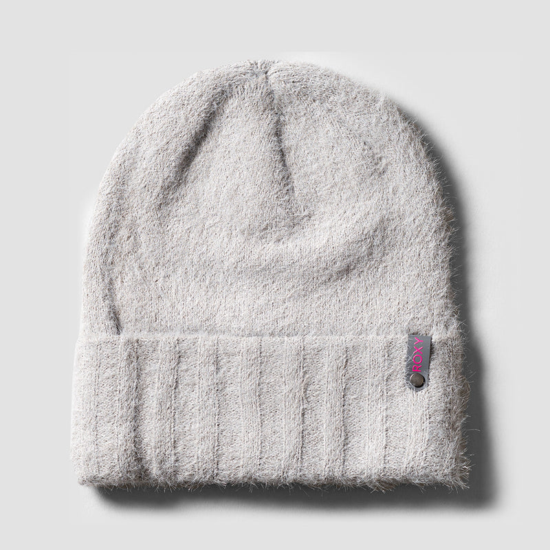 Roxy Rigby Beanie Heather Grey - Womens