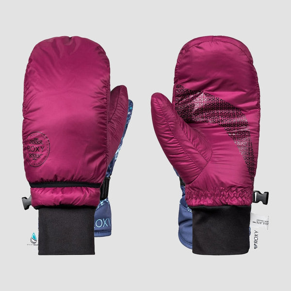 Roxy Rx Packable Snow Mttens Beet Red - Womens - Snowboard