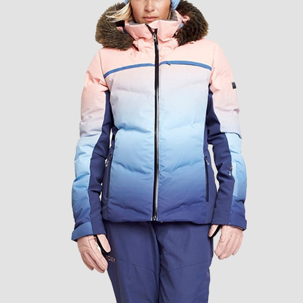 Roxy Snowstorm Snow Jacket Gradient - Womens - Snowboard