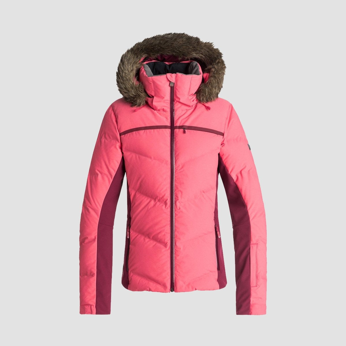 Roxy Snowstorm Snow Jacket Teaberry - Womens - Snowboard