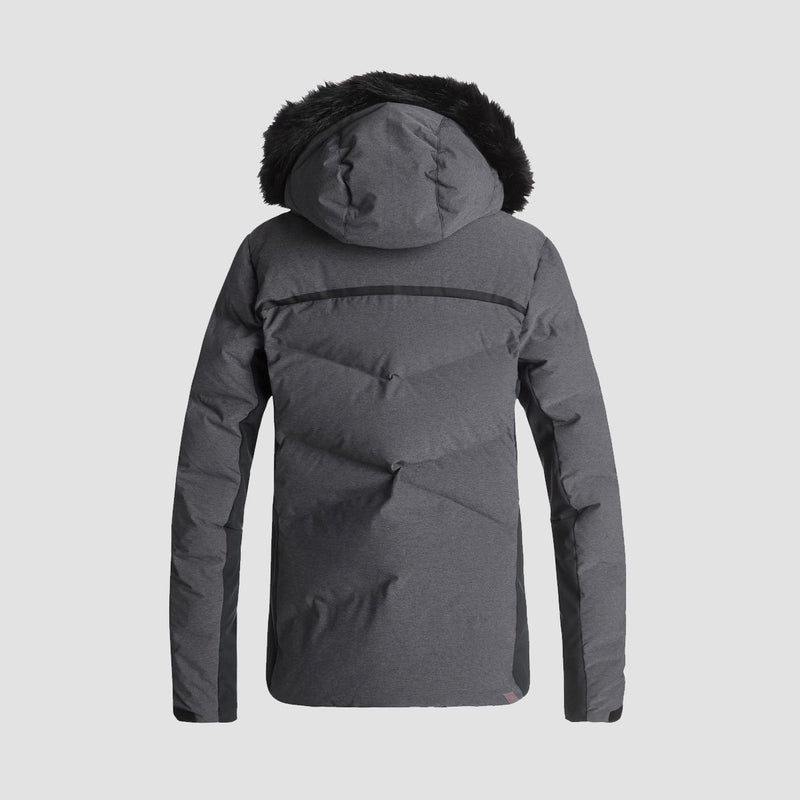 Roxy Snowstorm Snow Jacket True Black - Womens - Snowboard