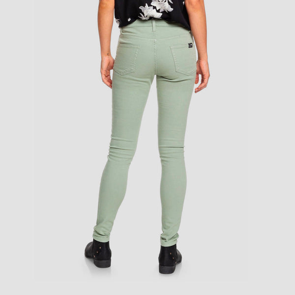 Roxy Stand By You Skinny Fit Jeans Lily Pad - Womens