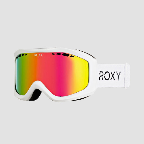 Roxy Sunset Ml Snow Goggles Bright White - Womens