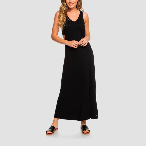 Roxy That Way Dress True Black - Womens