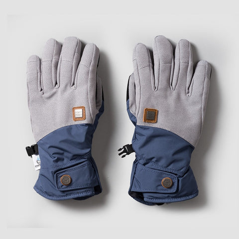 Roxy Vermont Snow Gloves Crown Blue - Womens