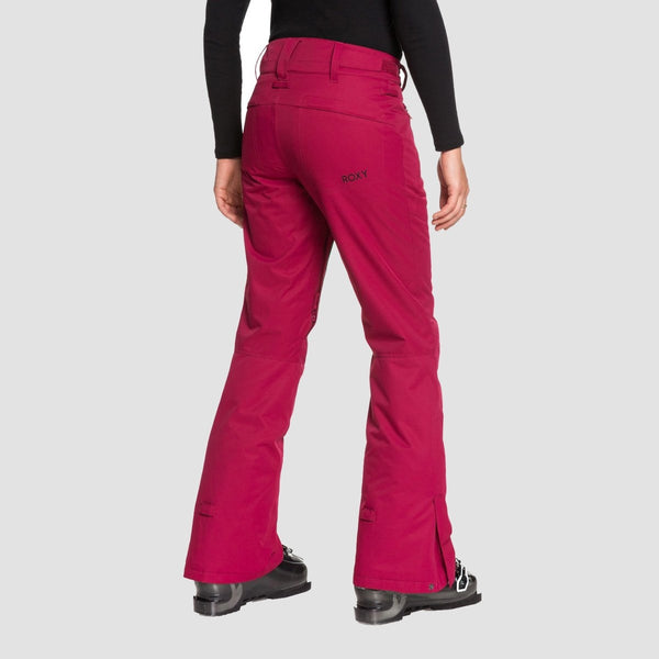 Roxy Winterbreak Snow Pants Beet Red - Womens - Snowboard