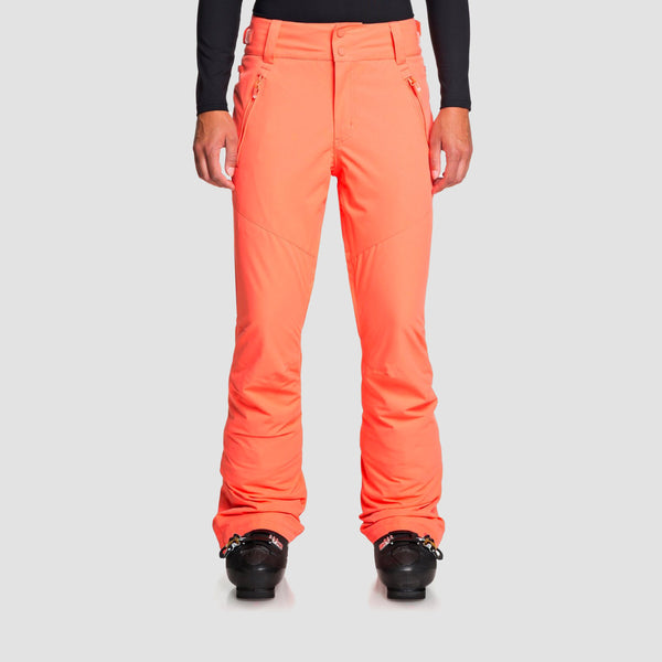 Roxy Winterbreak Snow Pants Living Coral - Womens
