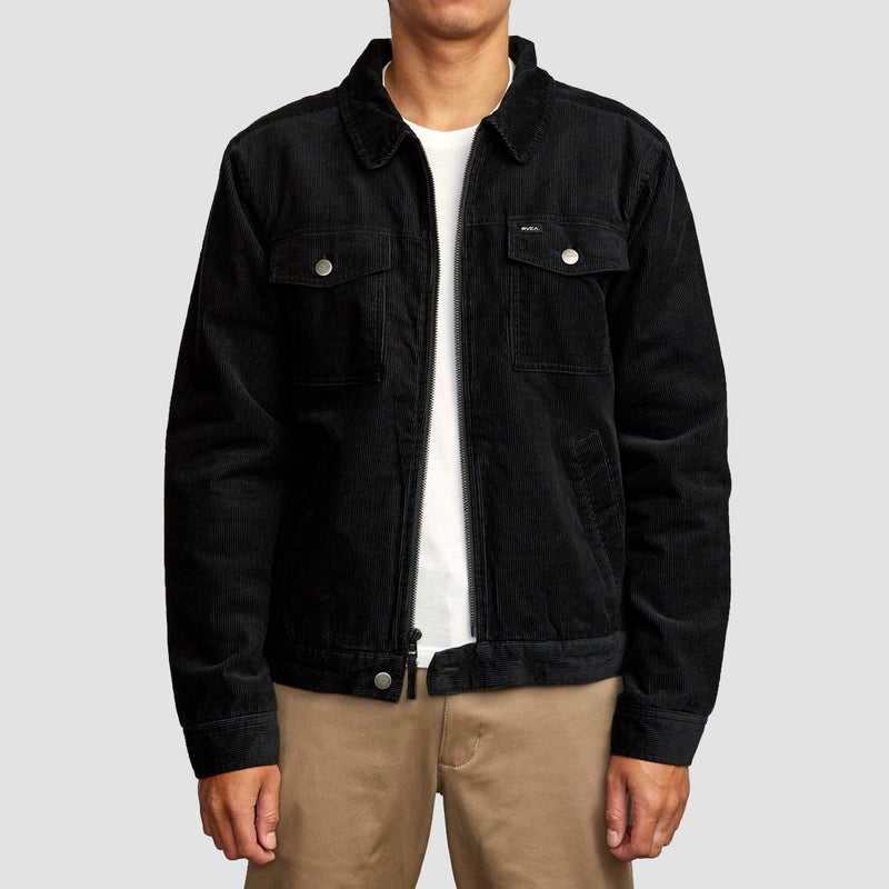 RVCA Easy Trucker Jacket RVCA Black