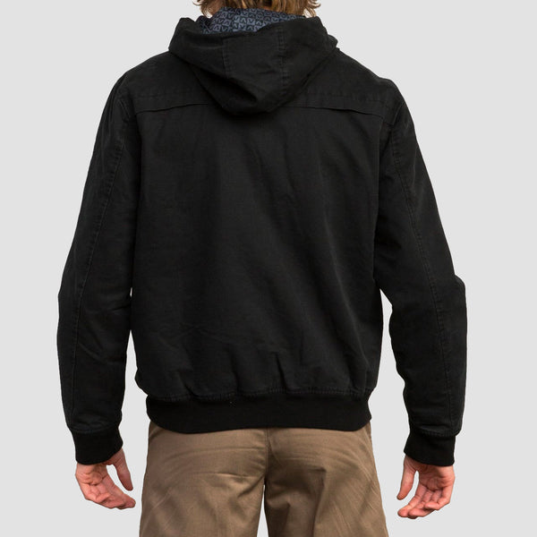 RVCA Hooded Bomber II Jacket RVCA Black