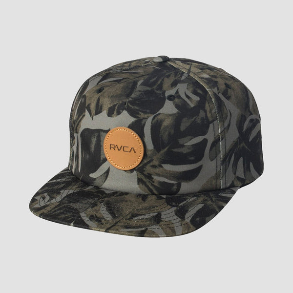 RVCA Leaves Cap Green