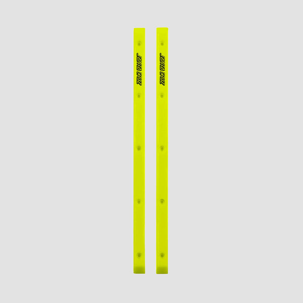 Santa Cruz Cell Block Slimline Rails Neon Yellow x2