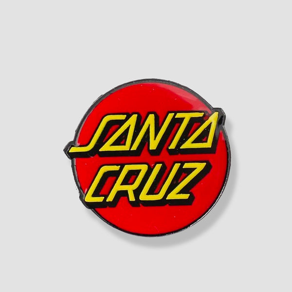 Santa Cruz Classic Dot Pin Red