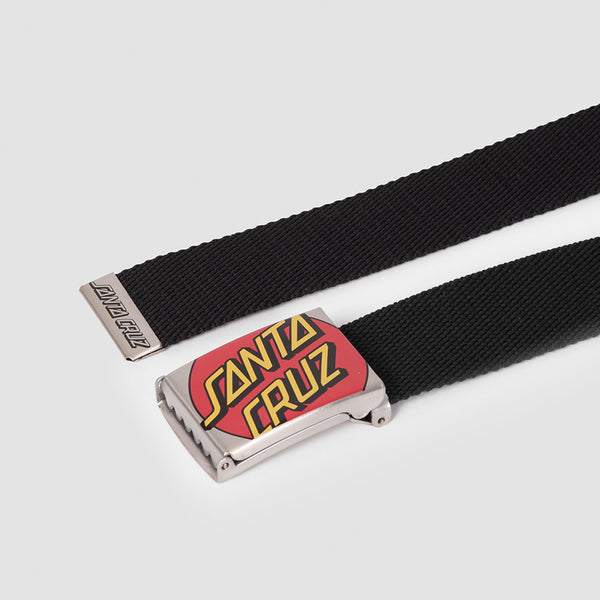 Santa Cruz Crop Dot Belt Black