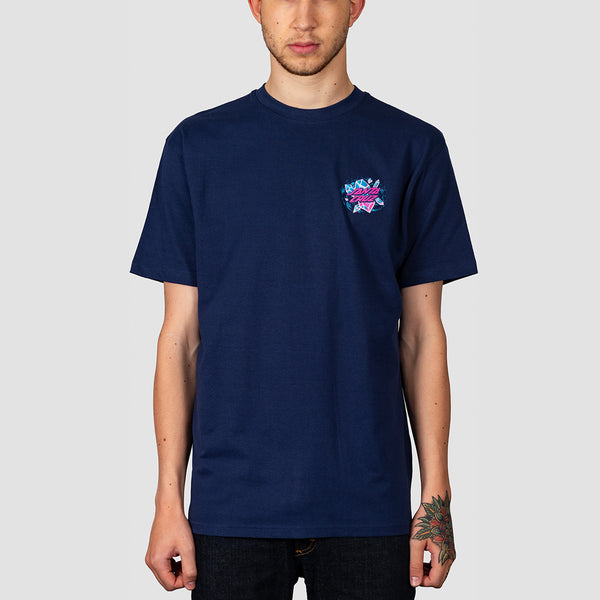 Santa Cruz Crystal Hand Tee Dark Navy