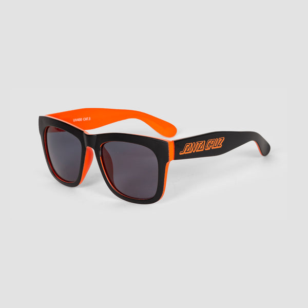 Santa Cruz Dazed Sunglasses Black/Fluro Orange