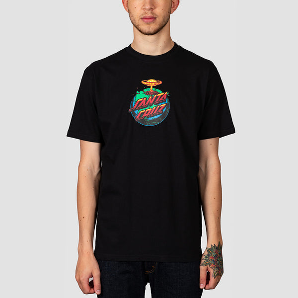 Santa Cruz Doom Dot Tee Black