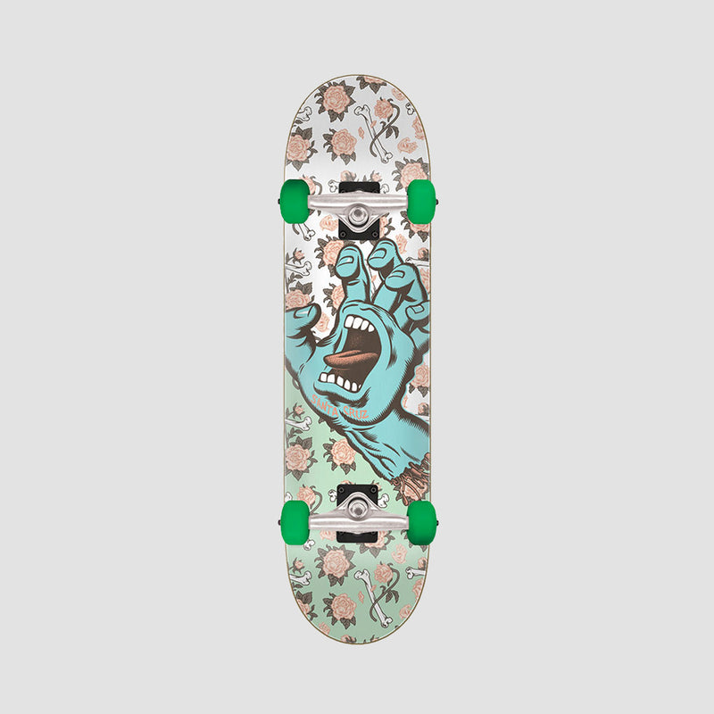 Santa Cruz Floral Decay Hand Full Pre-Built Complete Multi - 8""