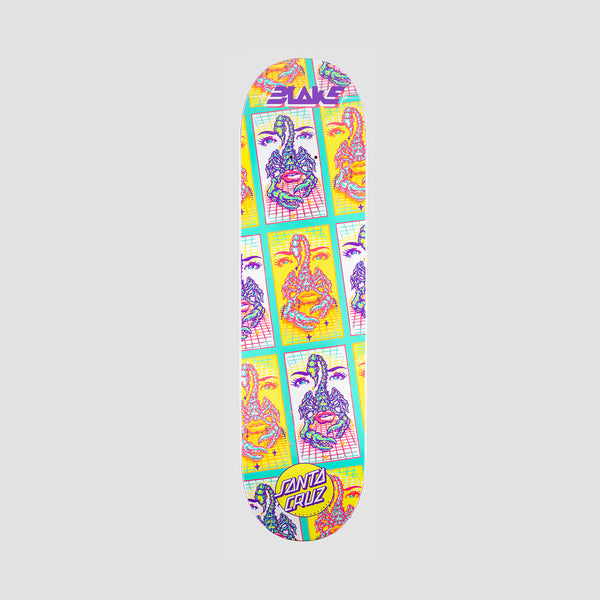 Santa Cruz Johnson Danger Tile Power Ply Deck Multi - 8.375""