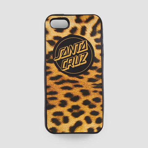 Santa Cruz Leapoardskin iphone 5/5S/SE Case Leopard