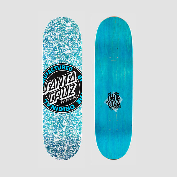 Santa Cruz MFG Dot Boats Deck Blue - 8.8""