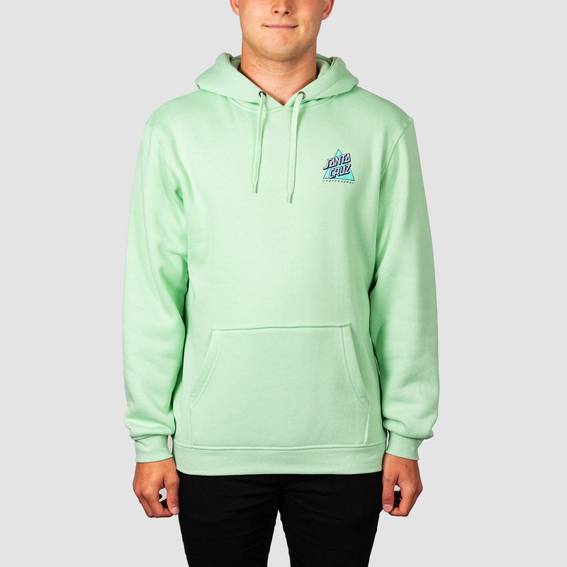 Santa Cruz Not A Dot Pullover Hood Mint