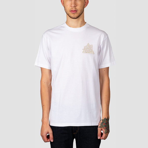 Santa Cruz Not A Dot Tee White