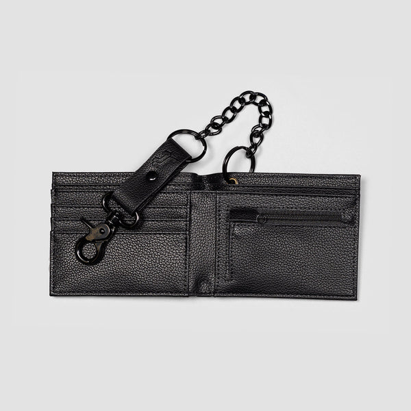 Santa Cruz Opus Dot Chain Wallet Black