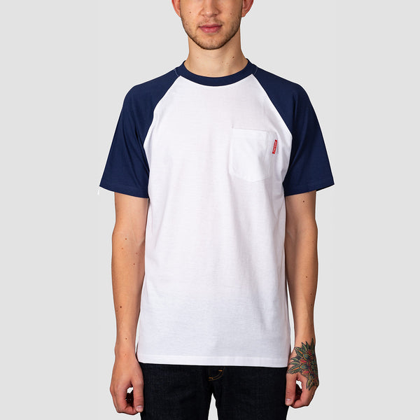Santa Cruz Opus Dot Tee Dark Navy/White