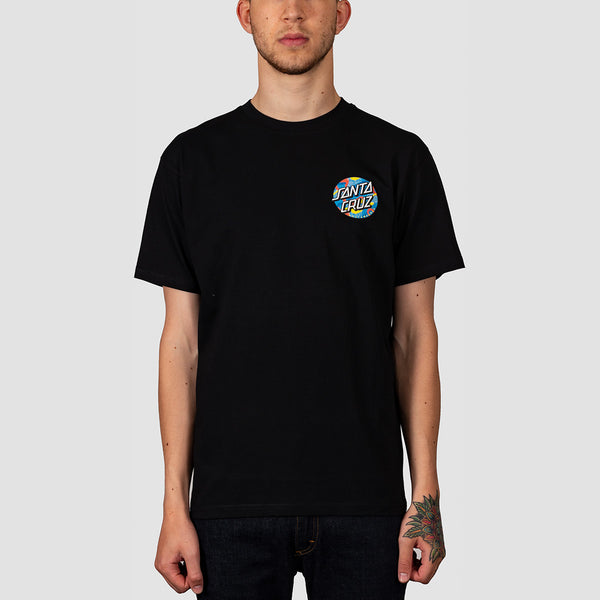 Santa Cruz Primary Dot Tee Black