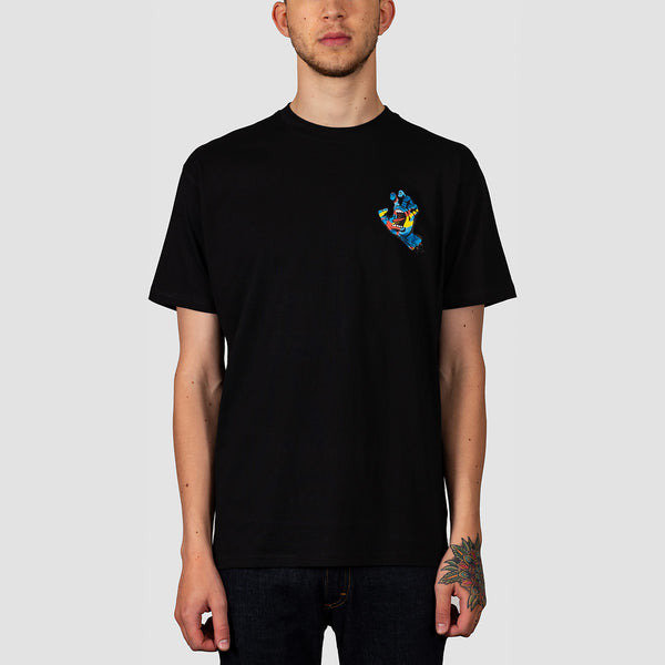 Santa Cruz Primary Hand Tee Black