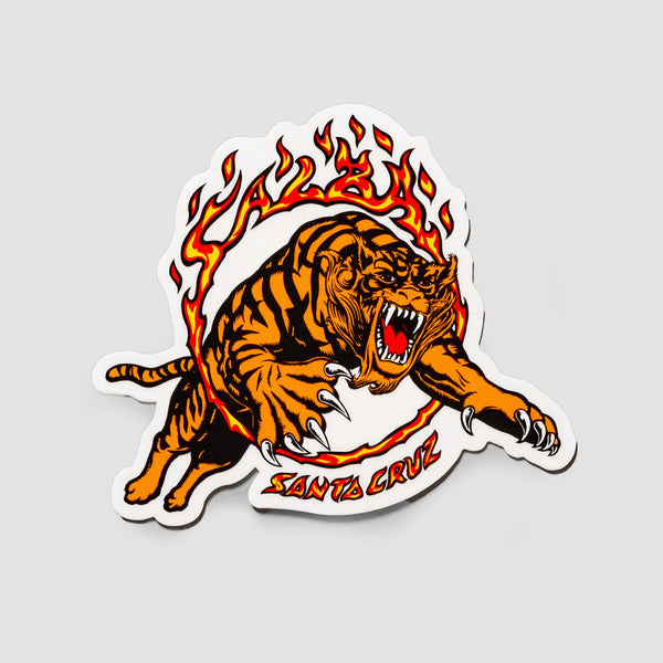 Santa Cruz Salba Tiger Sticker 105x90mm