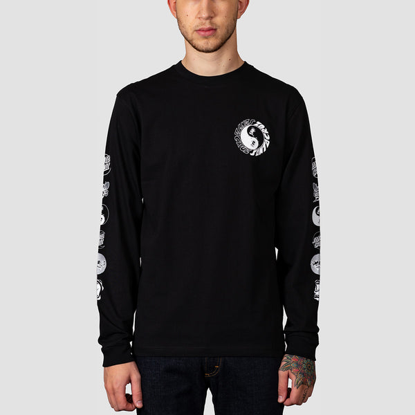 Santa Cruz Scream Ying Yang Longsleeve Tee Black