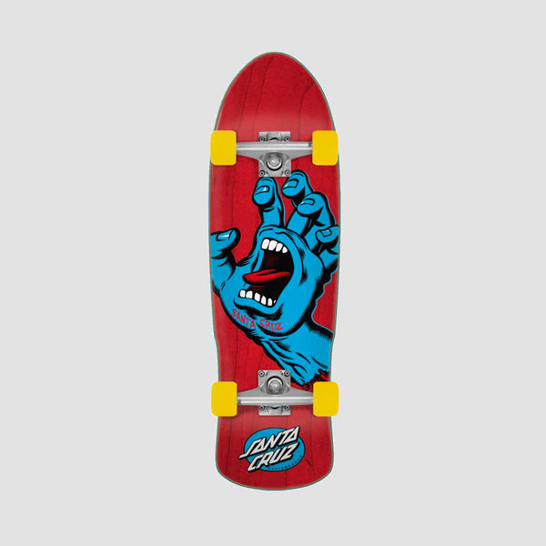 Santa Cruz Screaming Hand Foil 80s Cruzer Complete Red/Blue - 31.88""
