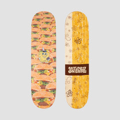 Santa Cruz x SpongeBob Krabby Patties Everslick Deck - 8 - Skateboard