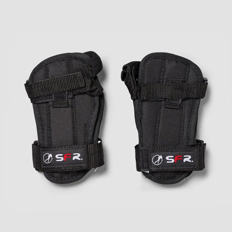 SFR Basic Double Splint Wrist Guards Black - Safety Gear