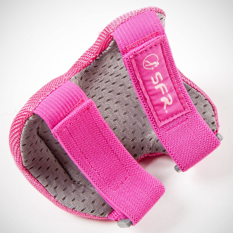 SFR Essential Triple Pad Set Pink - Safety Gear