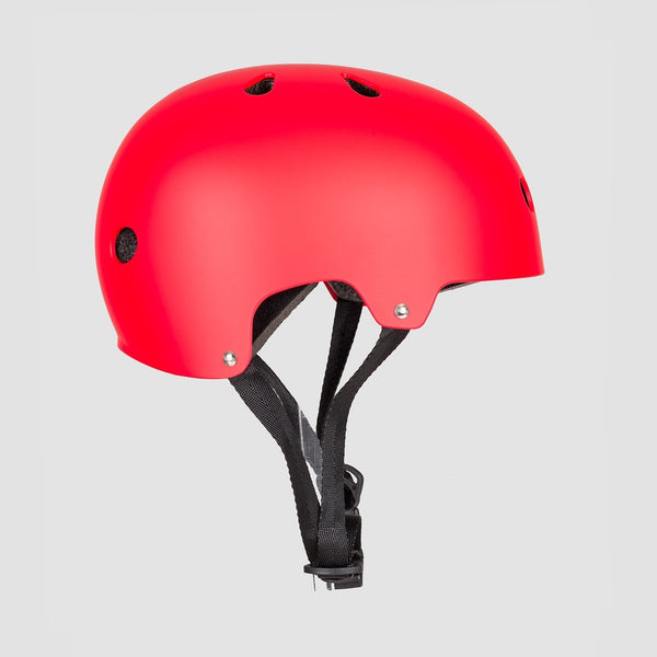 SFR Essentials Helmet Matte Red - Safety Gear