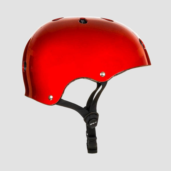SFR Essentials Helmet Metallic Red - Safety Gear