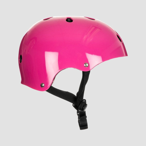 SFR Essentials Helmet With Stickers Pink - Safety Gear
