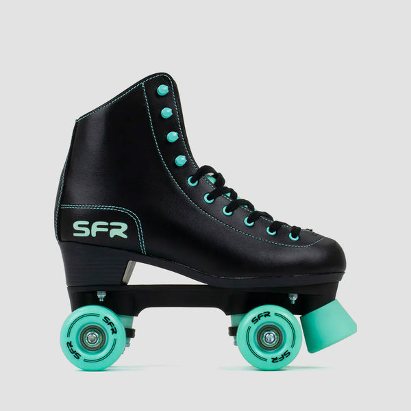 SFR Figure Quad Skates Black/Mint - Unisex S
